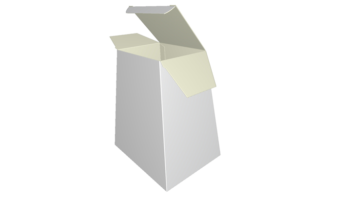 Folding carton Tapered Box-