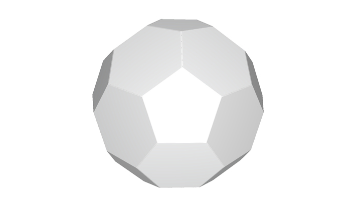 Folding carton ball
