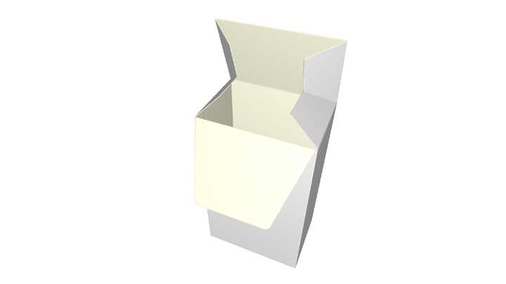 Folding carton Claw-Lock Closure
