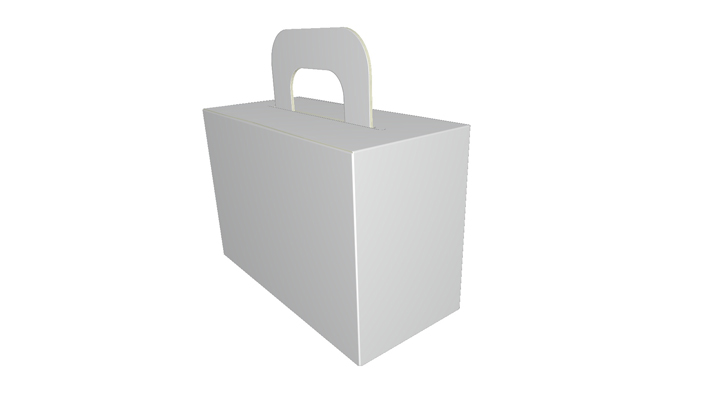 Folding carton box auto closure