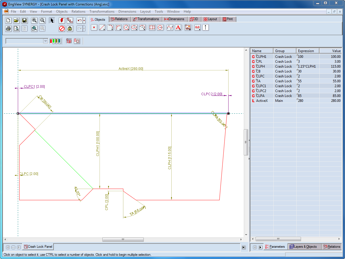 Synergy Parametric Design Software | EngView