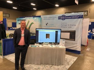 Shawn Kirsch at FASTSIGNS Vendor Show and Convention